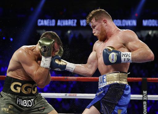 Alvarez Golovkin Boxing