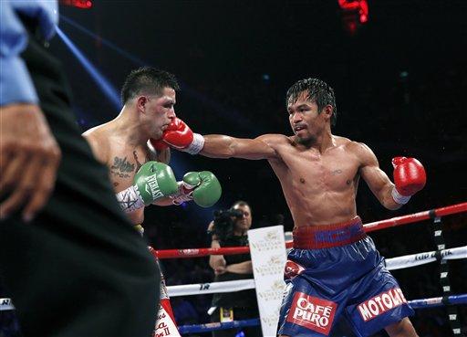 Manny Pacquiao, Brandon Rios